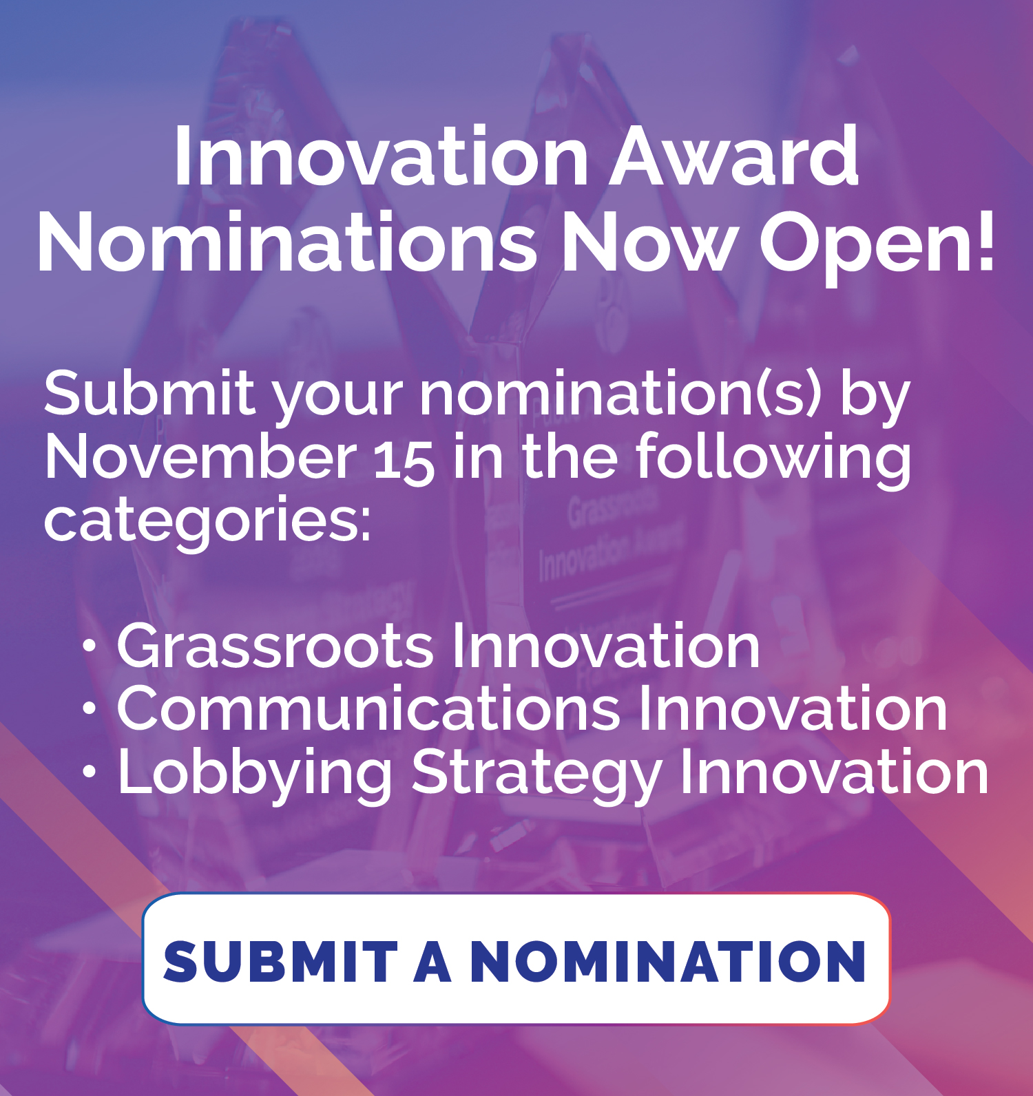 impact innovation awards ad