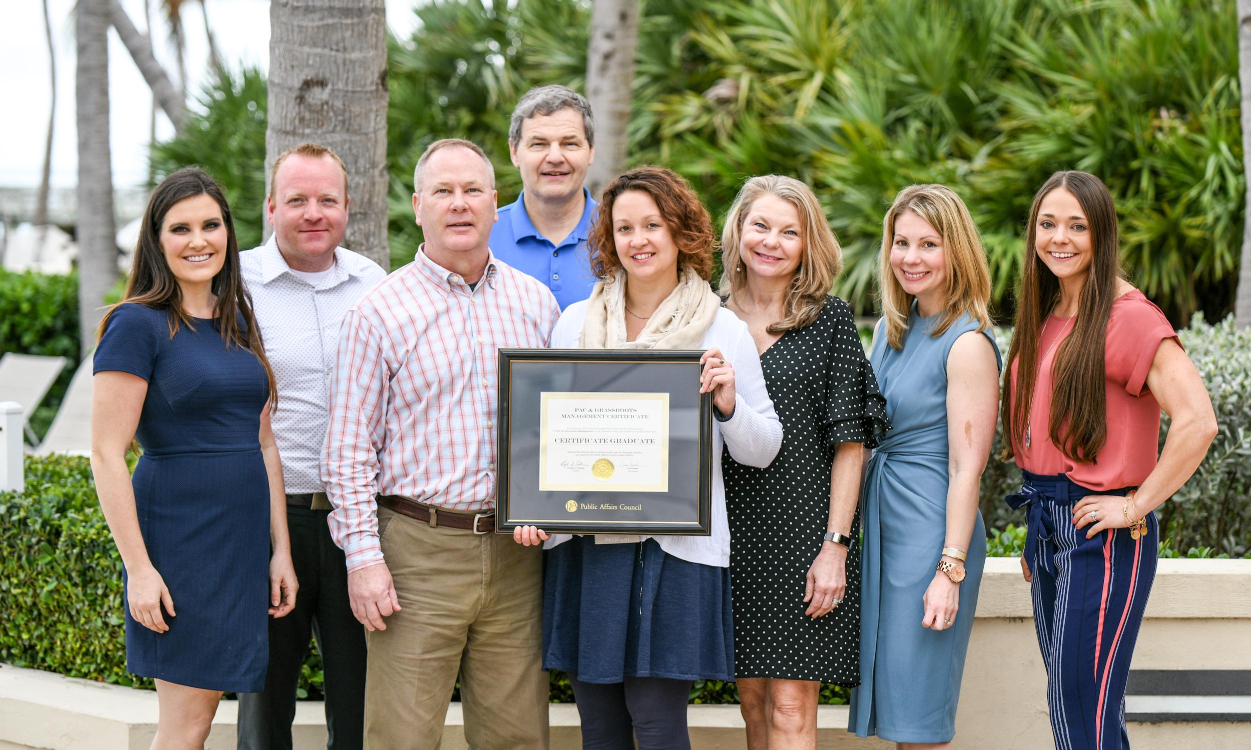 Certificate Winners TAC 2019 Earn Certificate